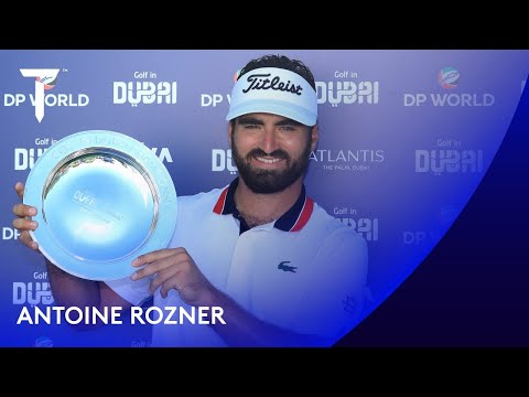 Antoine Rozner seals maiden Tour victory | 2020 Golf in Dubai Championship presented by DP World