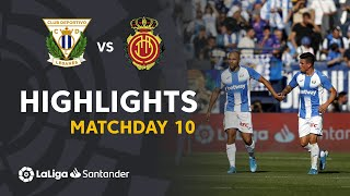 Highlights CD Leganes vs RCD Mallorca (1-0)