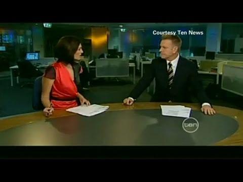 CNN: TV anchors Belinda Heggen and Mark Aiston behaving 'badly'