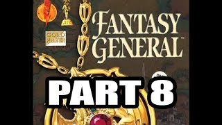 Fantasy General (Krell, Hard difficulty), 4rd Continent ( Part 1 )