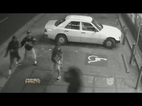Un video capta el momento en el que un joven es brutalmente asesinado