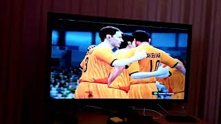 Играем в Sony футбол Недерланды Франция