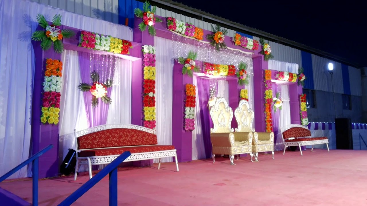 Reception Decoration By Hari Om Mandap Decoration And