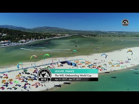 The WKL Kiteboarding World Cup 2017 - Mondial du Vent Highlights