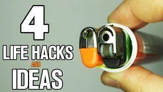 4 simple life hacks and ideas