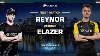 Reynor vs Elazer ZvZ - Quarterfinals - WCS Fall 2019 - StarCraft II
