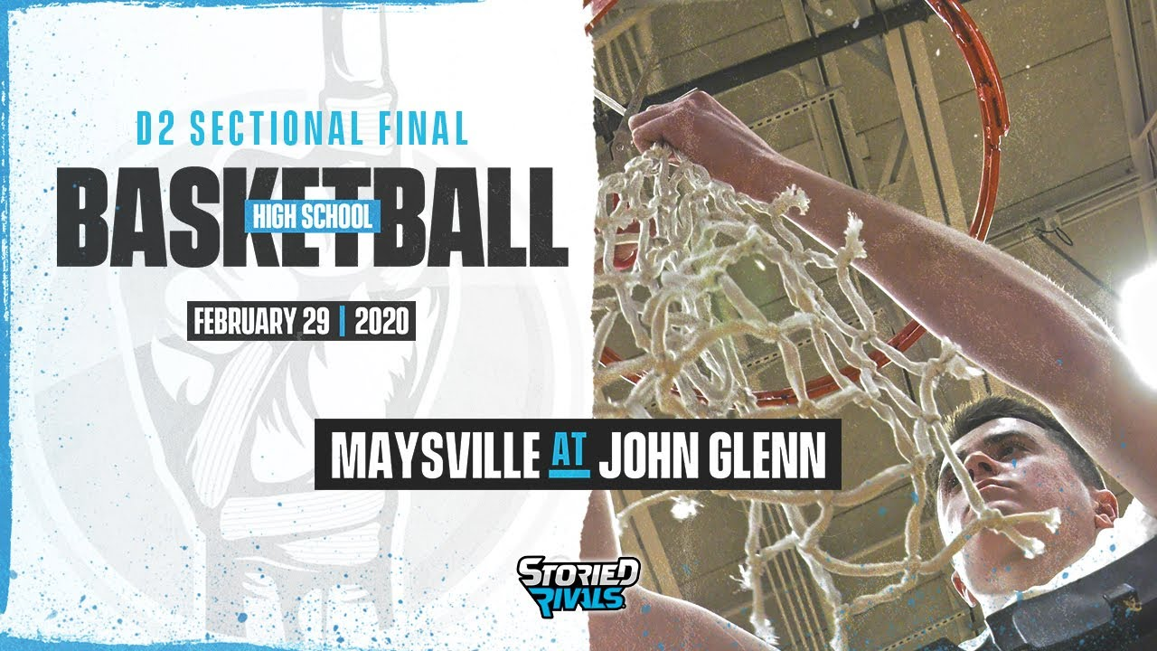 Hs Basketball Maysville At John Glenn Tournament 2 29 20 Youtube