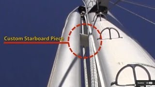 Deck Tour Of Liveaboard Sailboat Southern Cross, Part 2 (dickerson 41)