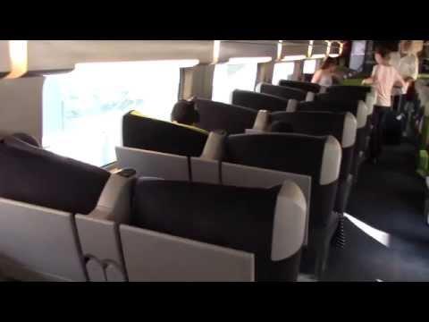 TGV 9244 from Milan to Paris, w/ subtitle (TGV 9244 ミラノ〜パリ間を乗った)
