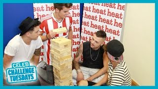 Union J Jenga Challenge - Heat Challenge Tuesdays