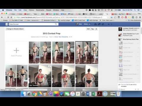 How to add pics to private FB Album & change album's privacy
