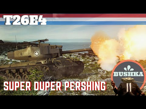 World Of Tanks Blitz   Super Pershing T26E4 Reivew Guide and Gameplay