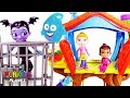 Vampirina  Park Tree House Jail Rescue Puppy Dog Pals