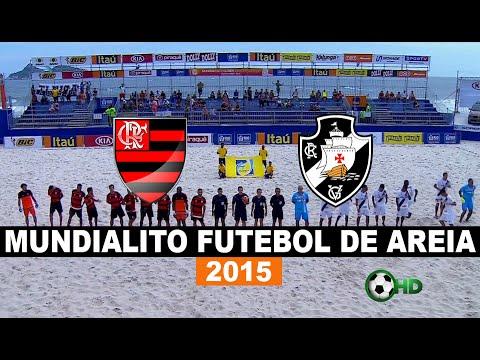 Gols - Flamengo 3 x 5 Vasco - Mundialito De Futebol De Areia 2015 - 09/12/2015 - Futebol HD