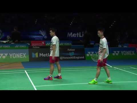 Yonex All England Open 2017 | Badminton SF M5-MD | Gid/Suk vs Con/Kol