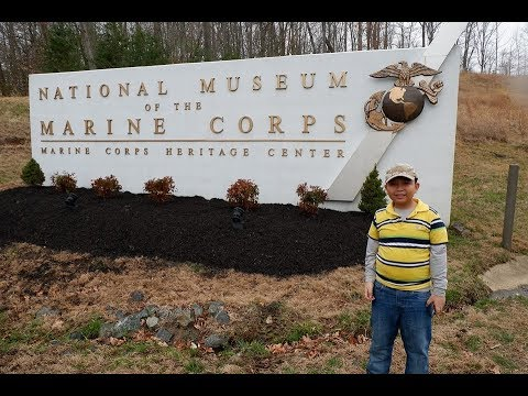 Exploring National Air & Space Museum and The National Marine Corps Museum || Eating in Mason Dixon