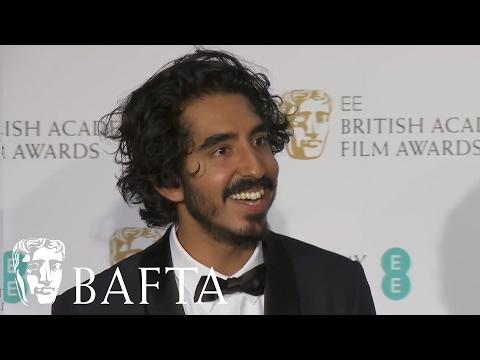 Dev Patel overwhelmed by BAFTA success | BAFTA Film Awards 2017