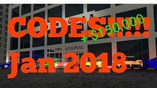 Codes For Roblox Vehicle Simulator| January 2018