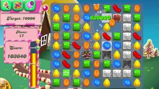 Candy Crush Saga Level 143 No Boosters 3 Stars