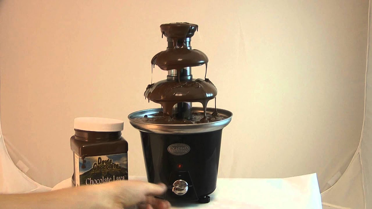 Chocolava Fondue Chocolate For Fountains Youtube