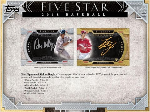 2018 Topps Five Star Full Case PYT 002   What do you think??