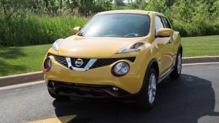 2017 Nissan Juke - Intelligent Key and Locking Functions