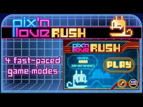 Pix'N Love Rush Official Android Trailer