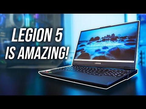 Lenovo Legion 5 - Best Under $1000 Ryzen Gaming Laptop!