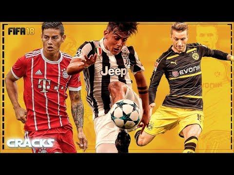 FIFA 18 | TOP MEJORES LANZADORES de LARGA DISTANCIA