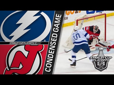 04/18/18 First Round, Gm4: Lightning @ Devils