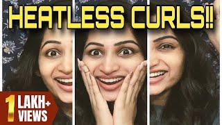 Curl Your Hair-NO heat/NO product/NO damage/Hair tutorial/#WOMwithNakshathra/WorldofMakeupwithNaksh