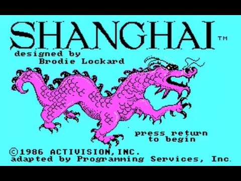 Shanghai - PC Game 1986
