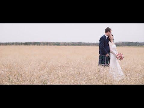 Ruth and Alastair Wedding Highlights - The Rhynd - Sony A7Sii