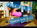 Full length Yoga class for a Herniated Disc - Yoga with Celest