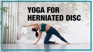 Full length Yoga class for a Herniated Disc - Yoga with Celest