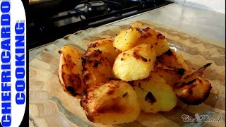 Roast Potatoes With Honey !!Christmas Dinner Jamaican Chef Chef Ricardo Cooking