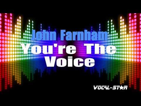 John Farnham - You're The Voice (Karaoke Version) With Lyrics HD Vocal-Star Karaoke