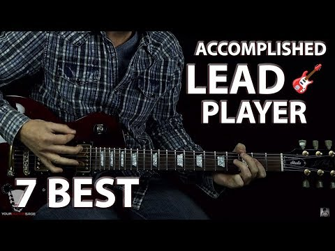 7 Best Practices for Becoming an Accomplished Lead Guitar Player