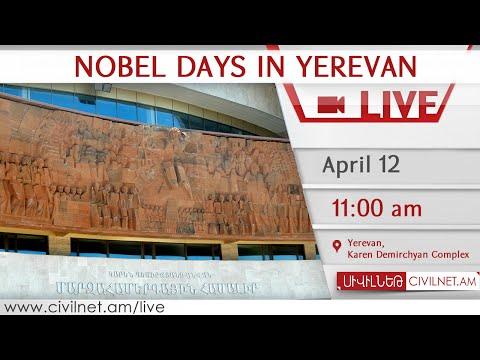 LIVE. Nobel Days in Yerevan