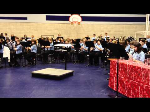 Depoali Middle School Band Winter Concert - December 2011