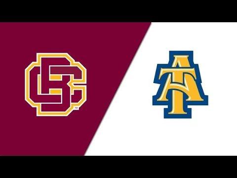 2019 MEAC Football: Bethune Cookman Vs  North Carolina A&T