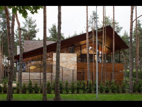 Casa de campo con planos y dise o de fachada e interiores - Imagenes de interiores de casas modernas ...