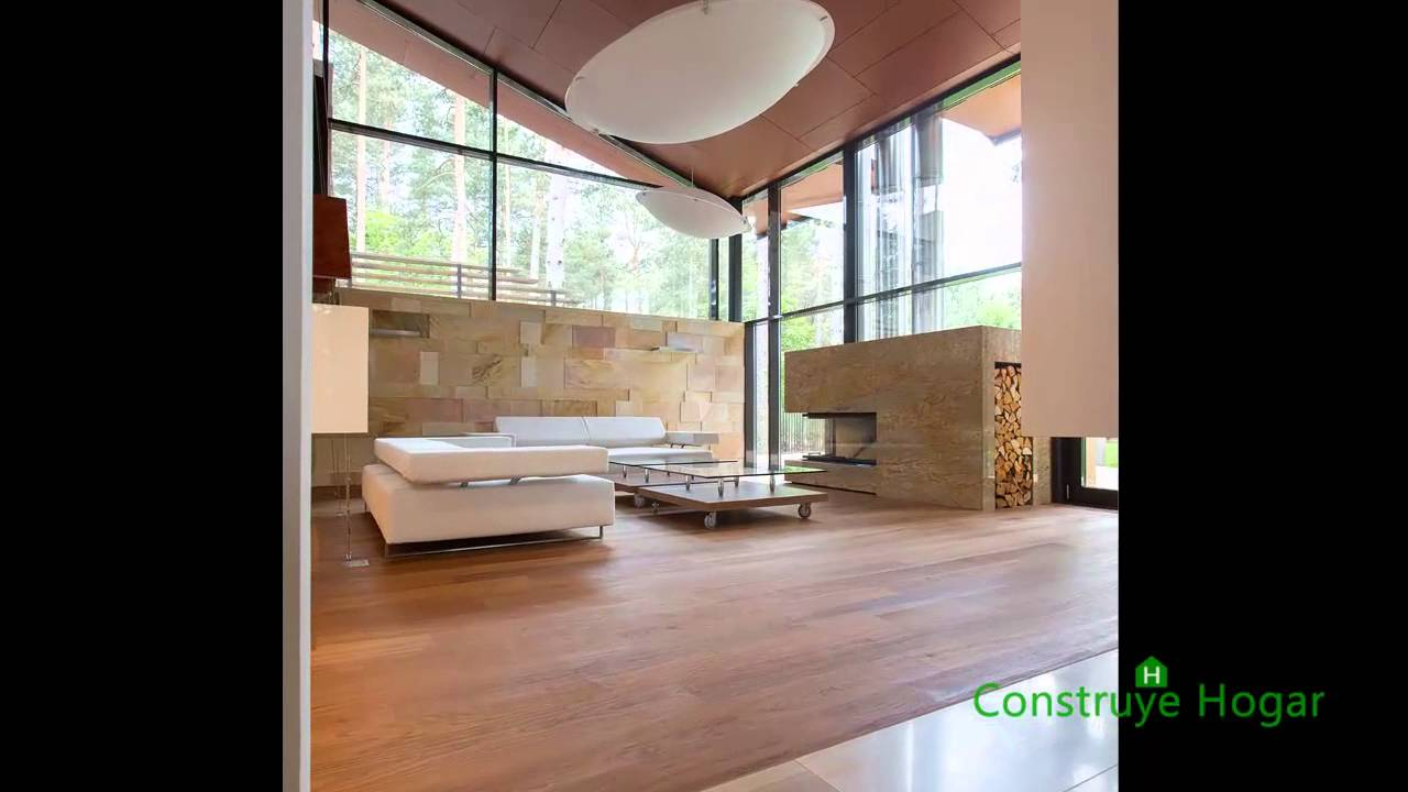 Casa de campo con planos y dise o de fachada e interiores for Fachadas de casas interiores