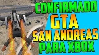 ¡NOTICIÓN! NUEVO GTA San Andreas CONFIRMADO PARA XBOX 360 + Fecha de Salida