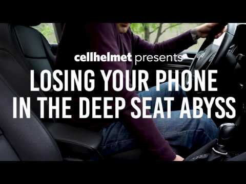 Cellhelmet Presents: Losing Your Phone In The Deep Seat Abyss