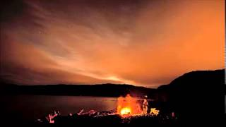 Relax Sound - Ocean wave with fire sound - Meditation Yoga and Relaxation music
