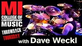 Dave Weckl Throwback Thursday From the MI Vault 8/28/1998