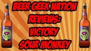 Gambar cover Victory Sour Monkey | Beer Geek Nation Craft Beer Reviews