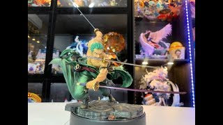 One Piece - Unboxing and Review Figure Roronoa Zoro POP SA-Maximum
