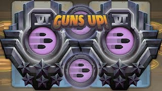 GUNS UP! - The highest Rate of Fire in the game!